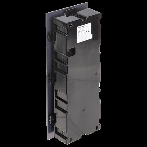 Rama montaj ingropat, 3 module, pentru Interfon modular - HIKVISION DS-KD-ACF3 [1]