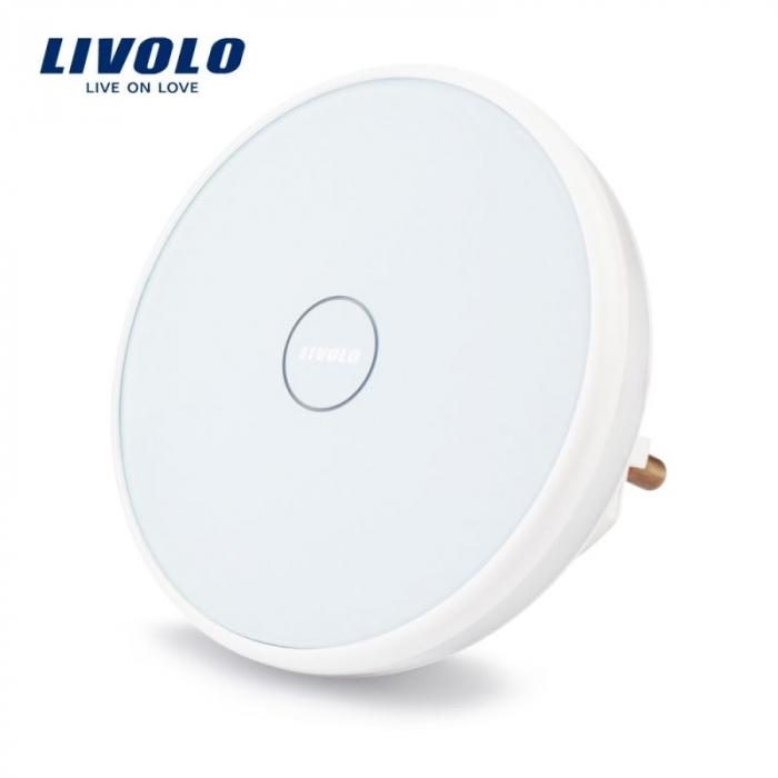 Receptor sonerie wireless - pentru priza - Livolo VL-D101EU-11 [0]
