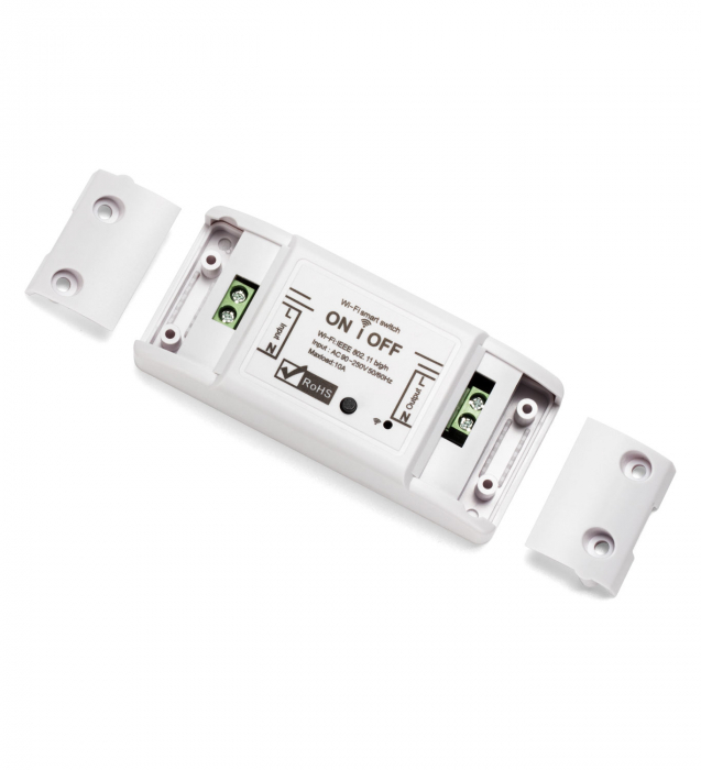 Releu Smart WiFi, Control din aplicatie, 1 canal,10A - Nous L6 [0]