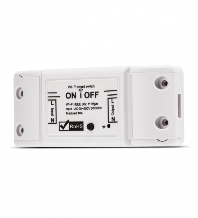 Releu Smart WiFi, Control din aplicatie, 1 canal,10A - Nous L6 [1]