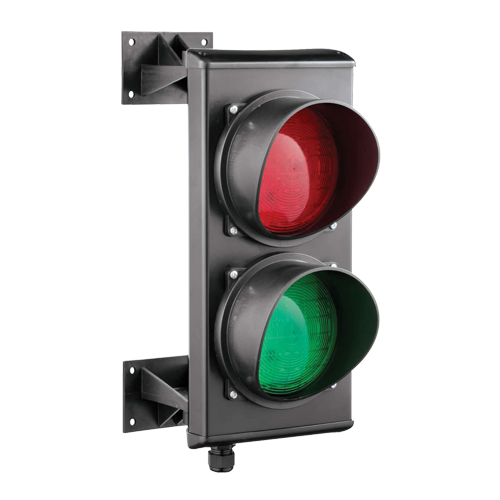 Semafor trafic, doua culori, 230V - MOTORLINE MS01-230V [1]