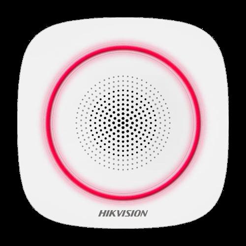 Sirena wireless AX PRO de interior cu led rosu, 868Mhz - HIKVISION DS-PS1-I-WE-R [0]
