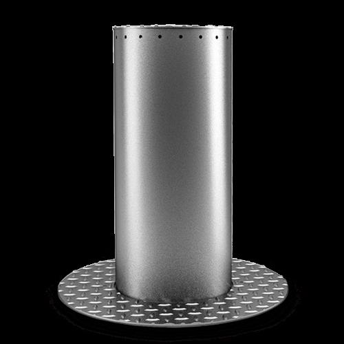 Stalp retractabil acces auto H-370 mm - MOTORLINE MPIE10-400 [0]