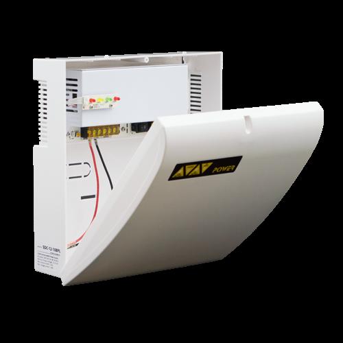 Sursa de alimentare cu back-up 12V 10A in cabinet de plastic - SDC-12-10BPL [0]