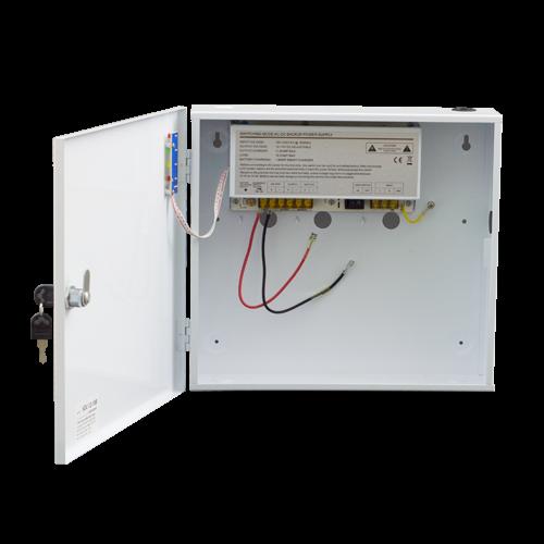 Sursa de alimentare back-up 12V 10A in cabinet metalic - SDC-12-10B [0]