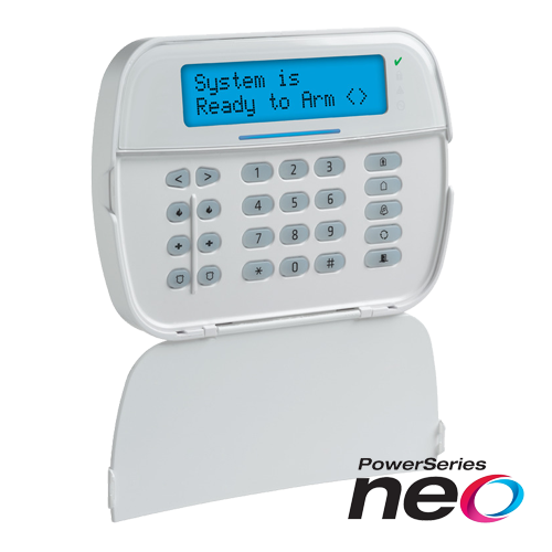 Tastatura LCD alfanumerica, cablata, 128 zone, SERIA NEO - DSC NEO-HS2LCD [0]