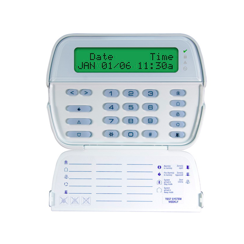 Tastatura LCD cu caractere alfanumerice + modul receptor radio - DSC RFK5500 [0]