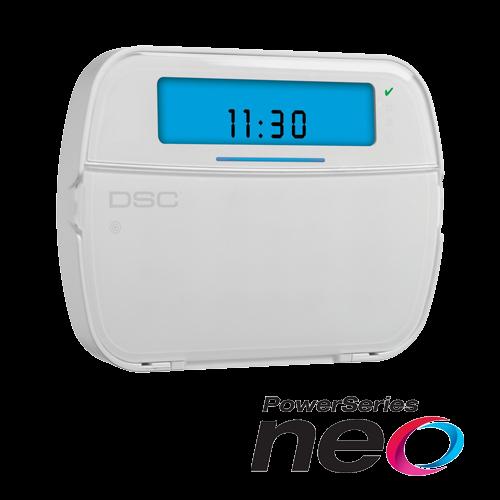 Tastatura LCD cu iconuri + modul wireless , cablata, 128 zone, SERIA NEO - DSC NEO-HS2ICON-RF [0]