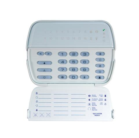 Tastatura LED, 16 zone + modul receptor radio - DSC RFK5516 [0]