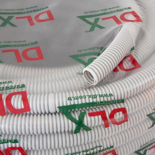 Tub flexibil (copex) D20, Halogen free, ignifug, cu fir tragere, rola 100 metri - DLX CRP-869-20 [0]