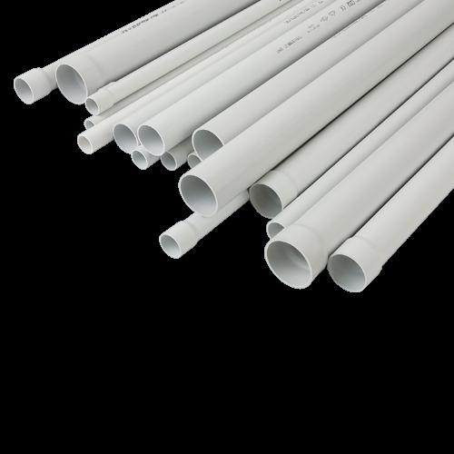 Tub PVC rigid D20, 750N, Halogen free, 3m - DLX TRP-802-20 [1]