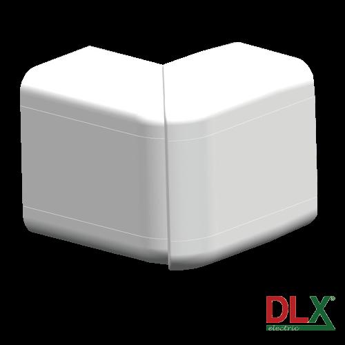 Unghi exterior ajustabil pentru canal cablu 102x50 mm - DLX DLX-102-02 [0]