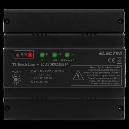 Unitate centrala de alimentare Electra smart 1 iesire - SCU.VDR02.ELG14 [0]