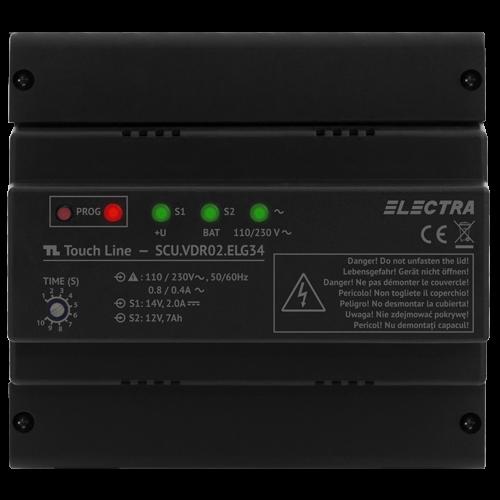 Unitate centrala de alimentare Electra smart 3 iesiri - SCU.VDR02.ELG34 [0]