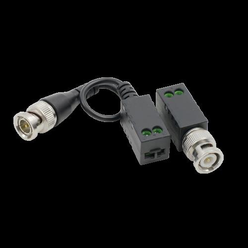 Video balun pasiv HD  (pret/set 2 buc.) - HIKVISION DS-1H18S-E-E [0]