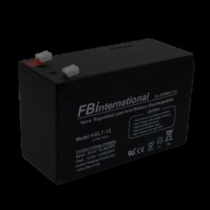 Acumulator 12V, 7Ah -FBi HGL12-7 [0]