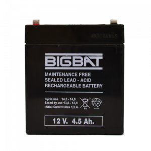 Acumulator BIG BAT 12V, 4.5 AH BB12V4.5 [1]