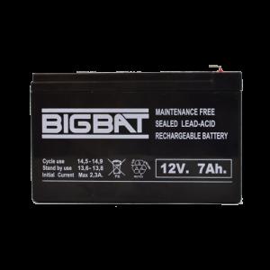Acumulator BIG BAT 12V, 7 AH BB12V7 [1]