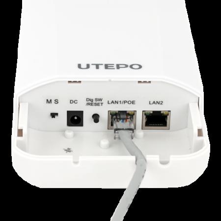 AP/Bridge wireless 2.4GHz, 300Mbps, 500m, PoE - UTEPO CP2-300 [1]