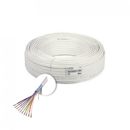 Cablu de alarma 10 fire ecranate, cupru integral, 100m 10CUEF [0]