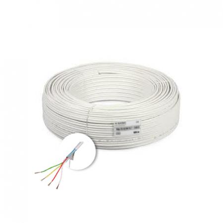 Cablu de alarma 4 fire ecranate, cupru integral, 100m 4CUEF [2]