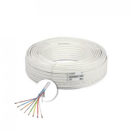 Cablu de alarma 8 fire ecranate, cupru integral, 100m 8CUEF [0]