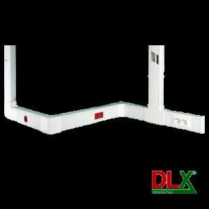 Canal cablu 102x50 mm cu capac, 2m - DLX DLX-102-50 [2]