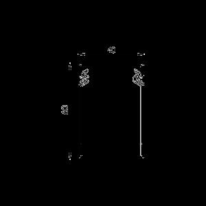 Canal cablu perforat 40x60 mm, cu capac, 2m - DLX PVCP-407-60 [1]