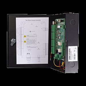 Centrala de control acces pentru 2 usi bidirectionala, conexiune TCP/IP - HIKVISION DS-K2802 [2]