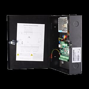 Centrala de control acces pentru o usa (bidirectionala), conexiune TCP/IP - HIKVISION DS-K2801 [2]