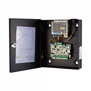 Centrala de control acces pentru o usa (bidirectionala), conexiune TCP/IP - HIKVISION DS-K2801 [1]