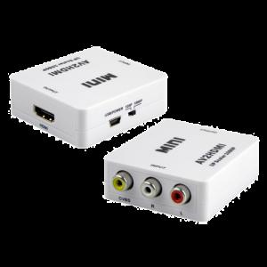 Convertor activ - HDMI la semnal AV/CVBS HDMI-AV [0]