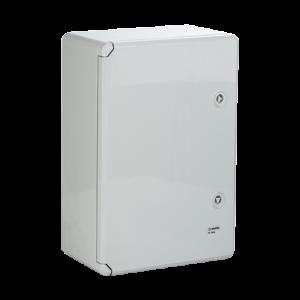Cutie distributie IP65 din ABS gri, usa mata, placa metalica, 300x400x220 mm PP3005 [2]