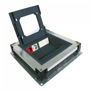 Doza de pardoseala in carcasa metalica - DLX UBS-890-10 [0]