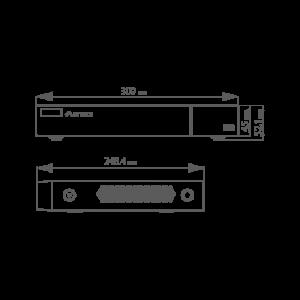 DVR Pentabrid 16 canale 2MP - 1080P - ASYTECH seria VT VT-1316HP [3]