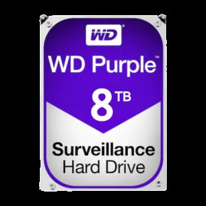 Hard disk 8TB - WD PURPLE WD80PURX [0]
