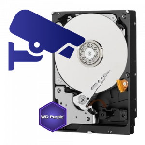 Hard disk 8TB - WD PURPLE WD80PURX [1]