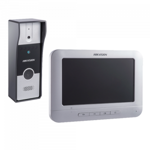 Kit videointerfon analogic 7'', conectare 4 fire - HIKVISION DS-KIS202 [0]