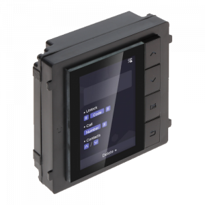 Modul afisaj LCD TFT pentru Interfon modular - HIKVISION DS-KD-DIS [1]