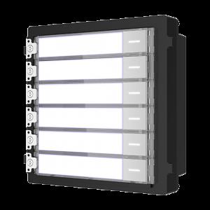 Modul extensie afisaj 6 familii pentru Interfon modular - HIKVISION DS-KD-KK [0]