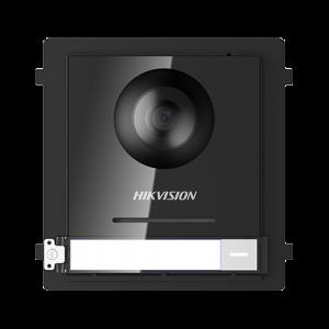 Modul Master conectare 2 fire, camera video 2MP fisheye si un buton apel  - HIKVISION DS-KD8003-IME2 [0]