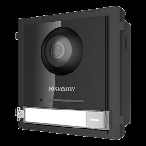 Modul Master pentru Interfonie modulara echipat cu camera video 2MP fisheye si un buton apel  - HIKVISION DS-KD8003-IME1 [0]