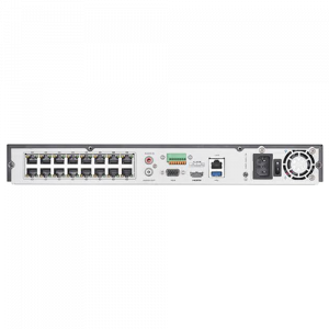 NVR AcuSense 16 canale 12MP + 16 PoE, tehnologie 'Deep Learning' - HIKVISION DS-7616NXI-I2-16P-4S [1]