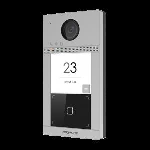 Post videointerfon Hikvision exterior TCP/IP pentru 1 familie, Wi-Fi 2.4GHz, control acces integrat - DS-KV8113-WME1 [2]
