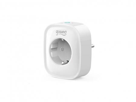 Priza inteligenta WiFi Gosund SP112, 16A, 2X USB, Monitorizare consum energie [3]