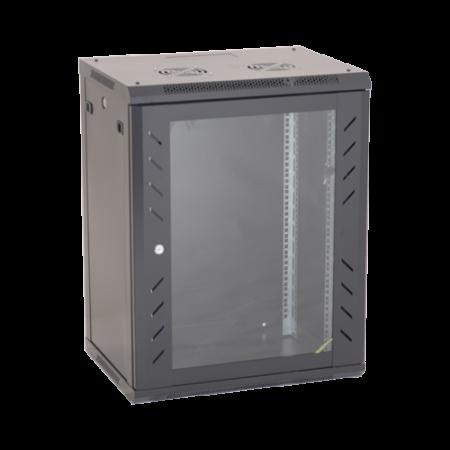 Rack perete 18U 19' 600x450, negru - ASYTECH Networking ASY-18U-6045W [0]