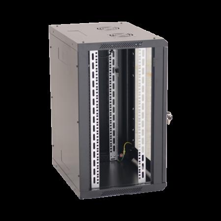 Rack perete 18U 19' 600x600, negru - ASYTECH Networking ASY-18U-6060W [1]