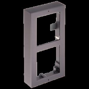 Rama montaj aparent, 2 module, pentru Interfon modular - HIKVISION DS-KD-ACW2 [0]