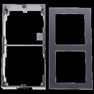 Rama montaj aparent, 2 module, pentru Interfon modular - HIKVISION DS-KD-ACW2 [1]