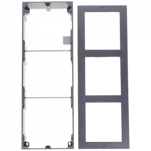 Rama montaj aparent, 3 module, pentru Interfon modular - HIKVISION DS-KD-ACW3 [1]